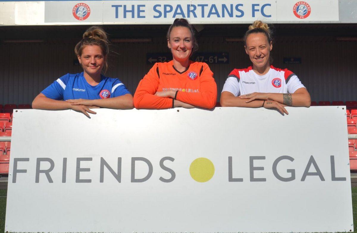 Friends Legal Sponsor Spartans FC Women's Girls' Club