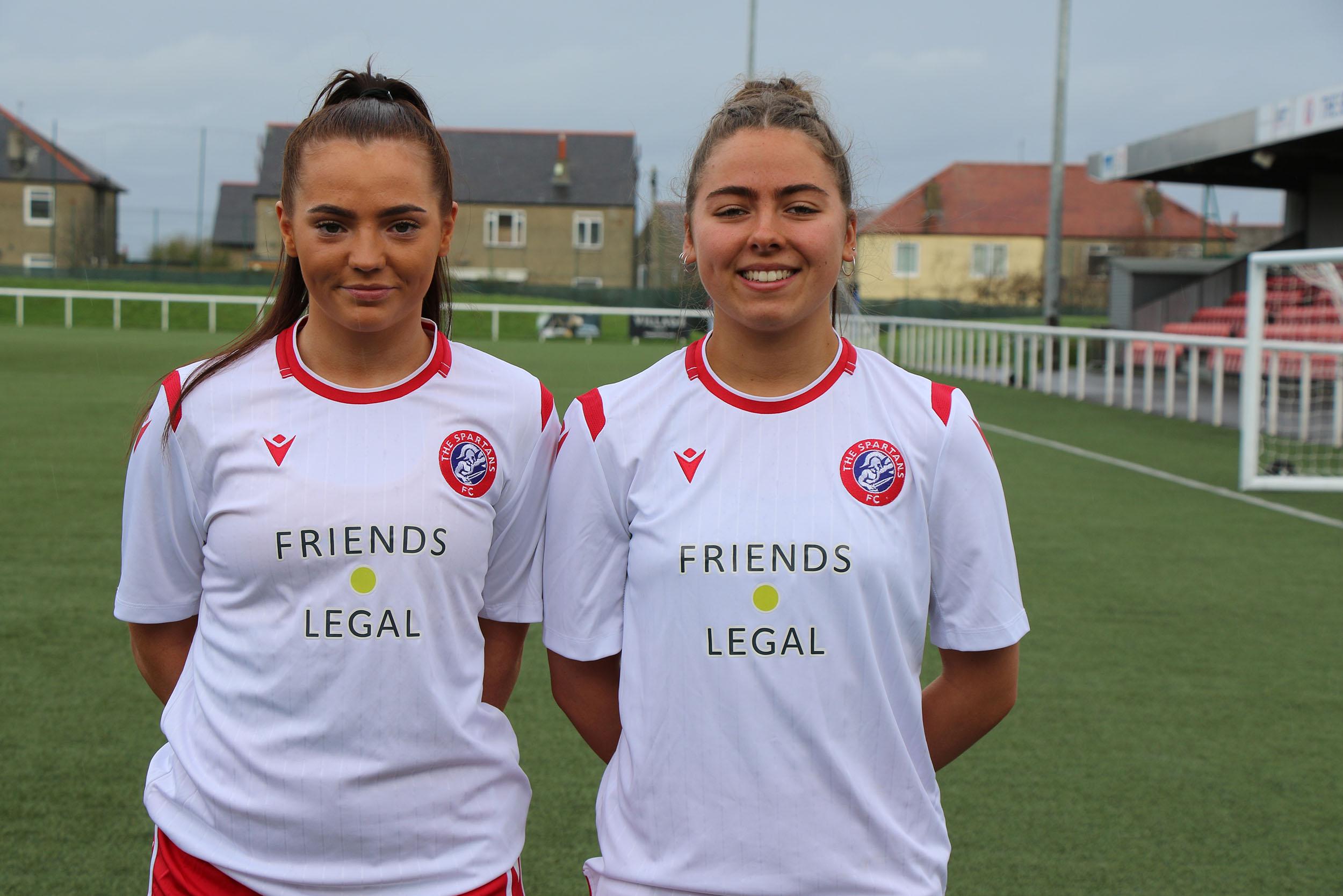 Friends Legal Proudly Sponsors Spartans Football Club Women's Team