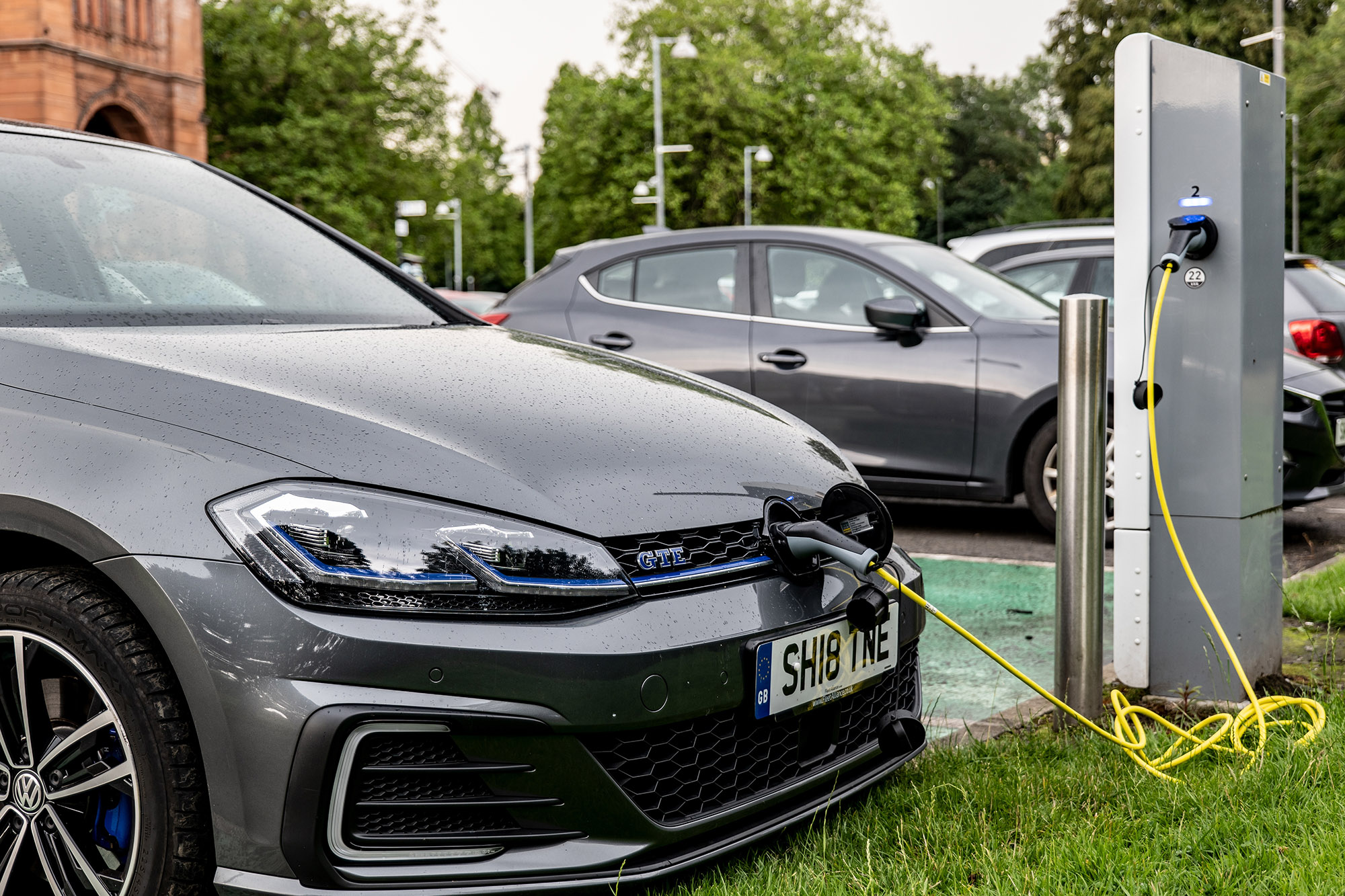 The Government introduce a ban on the sale of petrol and diesel cars from 2030