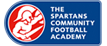 spartans community football academy logo